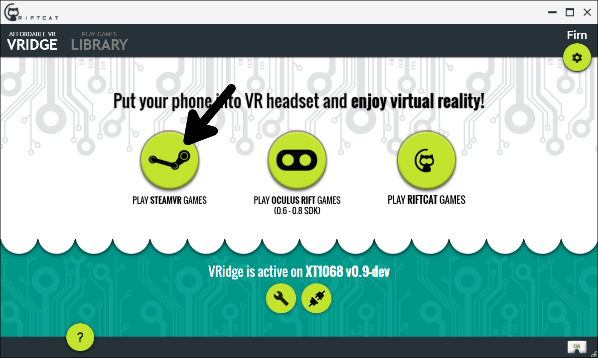 Classic] Playing HTC Vive (SteamVR) games with VRidge
